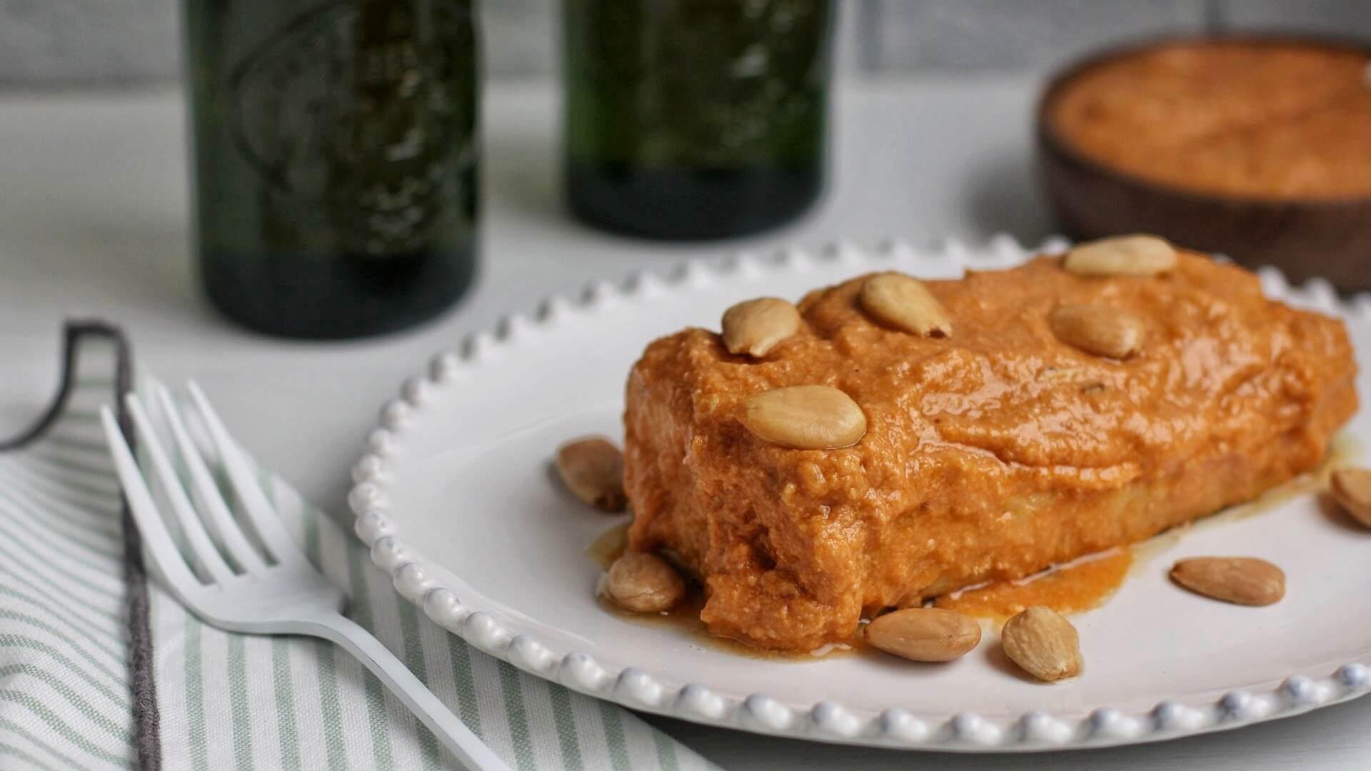 Bacalao con salsa de almendras, una receta para mojar pan