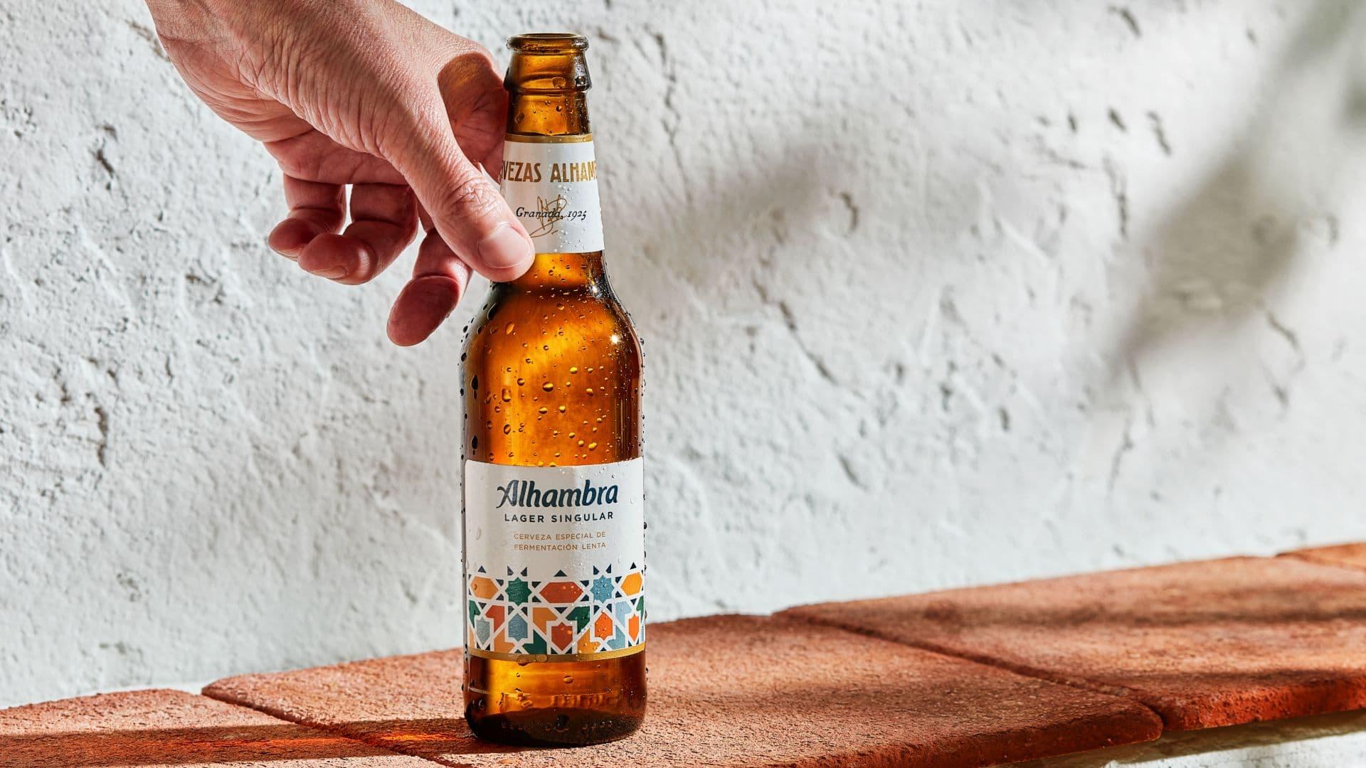 Con Alhambra Lager Singular, este día es la vida