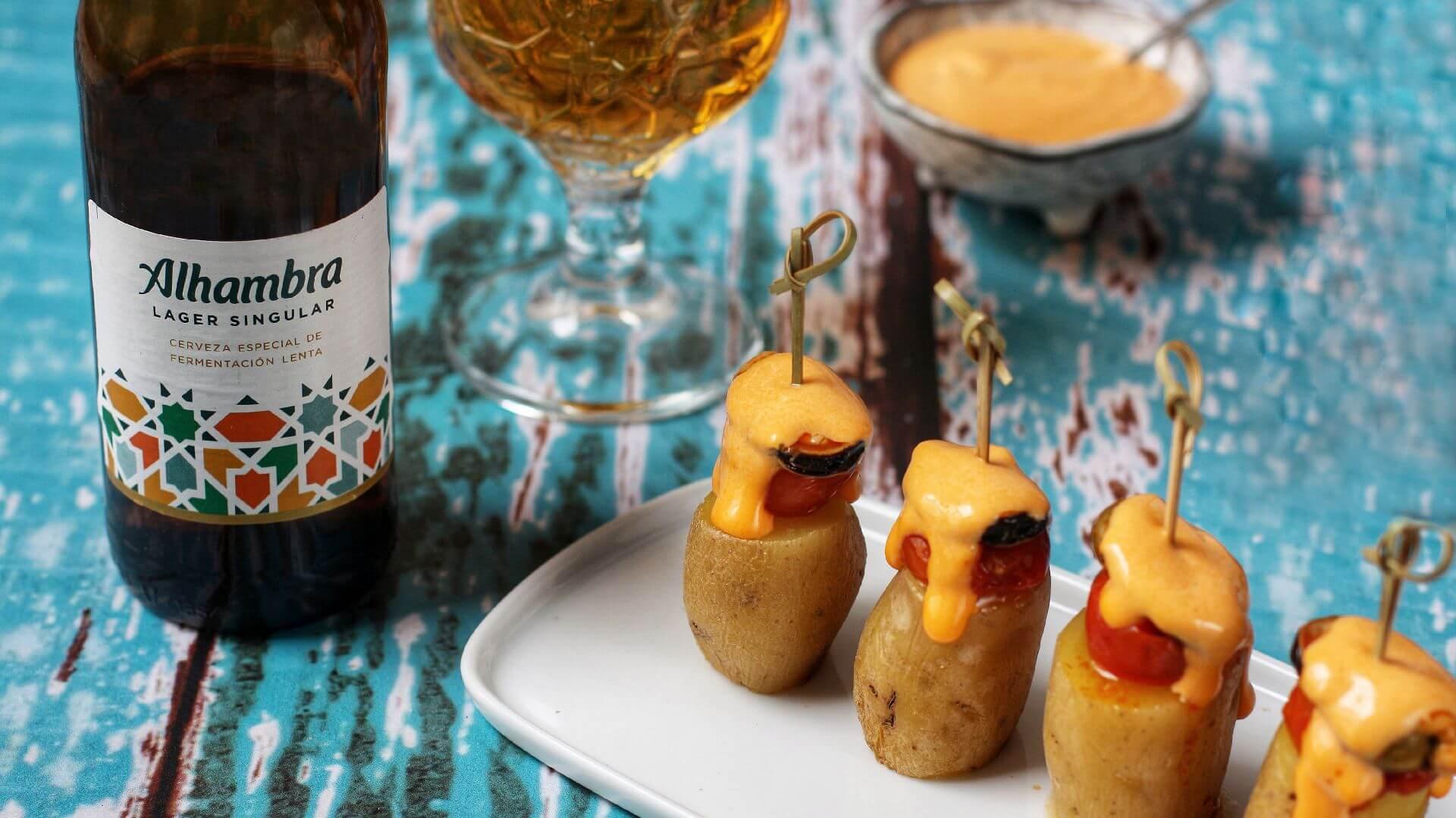 Aperitivo de patatas y mejillones con alioli: receta para llevar un picoteo al siguiente nivel