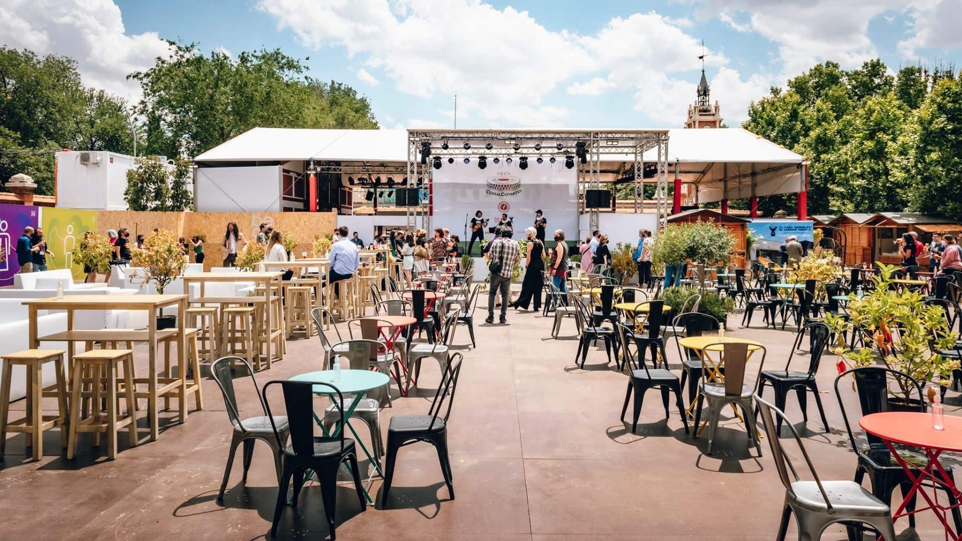 La Guarida de Cervantes, un refugio sonoro y cultural en el caluroso verano madrileño