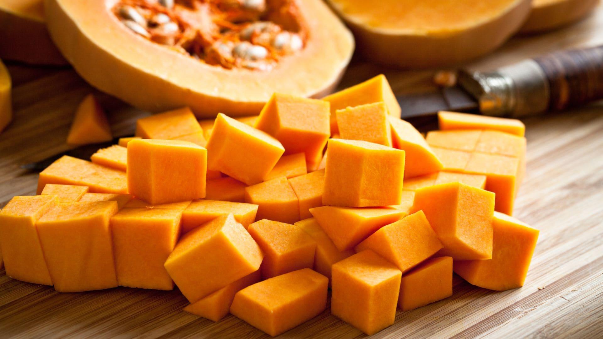 La cesta de octubre: sabor y sencillez en color naranja