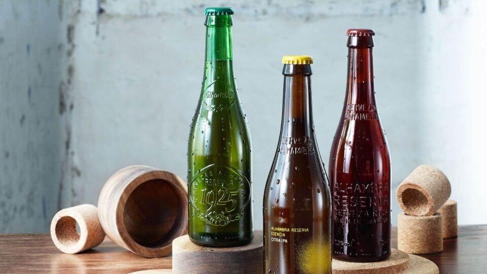 Etiquetas de Cervezas Alhambra: una forma de ver el mundo