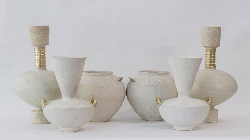 Canoa Lab: joyas y cerámicas de valor artesanal que juegan con la belleza del tiempo