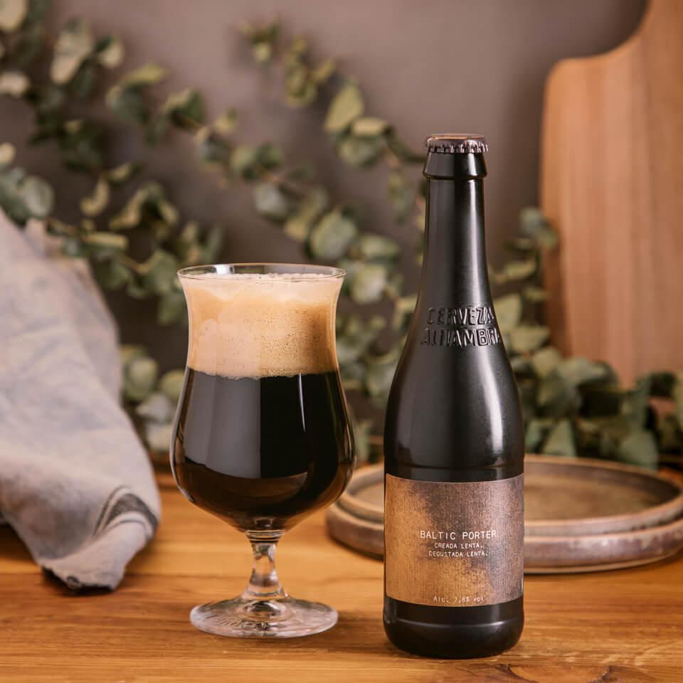 Alhambra Baltic Porter - La Brújula - Cervezas Alhambra