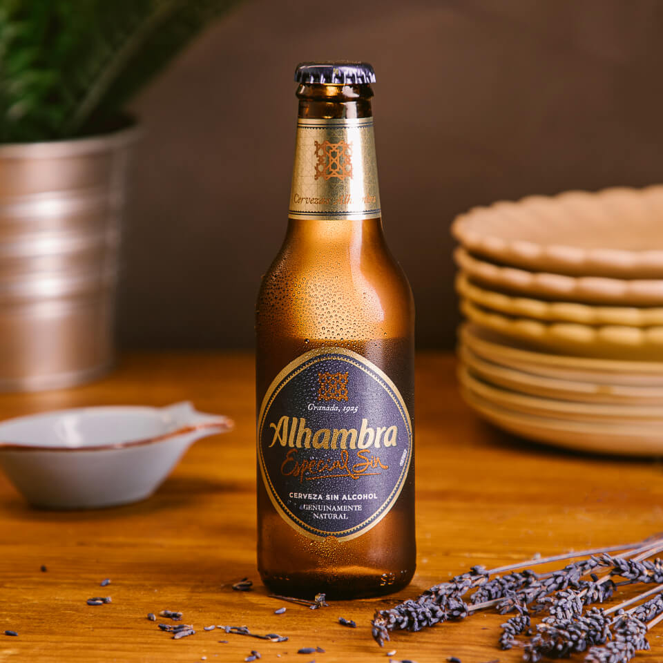 Cerveza Especial Sin - Cervezas Alhambra - La Brújula