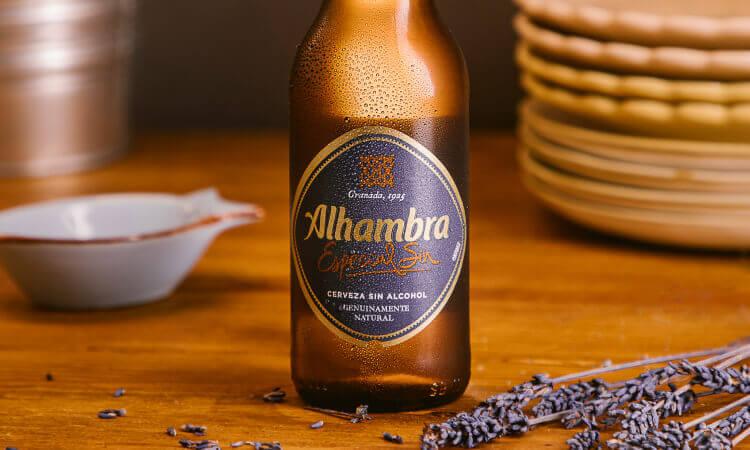 Alhambra Especial Sin- La Brújula - Cervezas Alhambra
