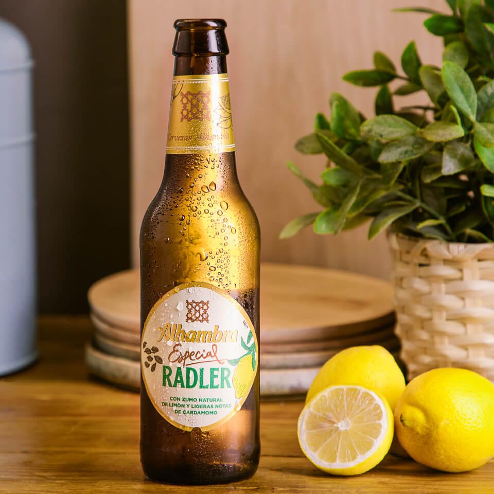 Alhambra Radler con limón