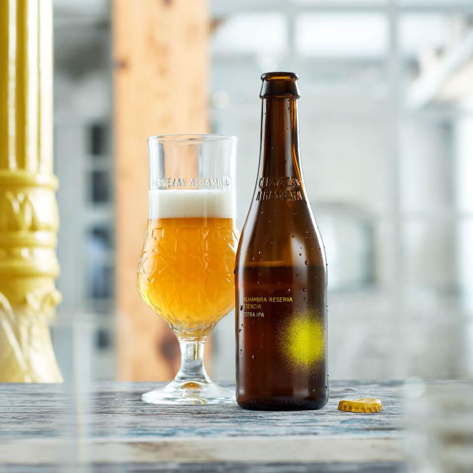 Alhambra Reserva Esencia Citra IPA - La Brújula - Cervezas Alhambra