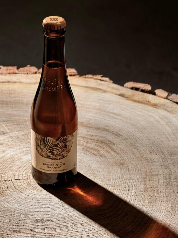 Cerveza Barrica Ron Granadino - Cervezas Alhambra