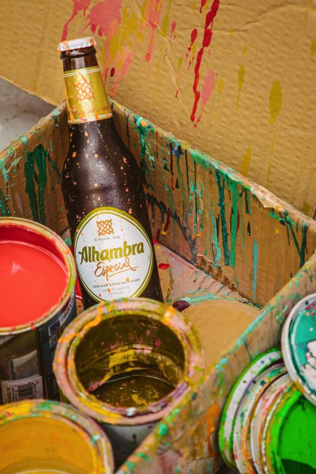 Crear sin prisa - Calle - Cervezas Alhambra