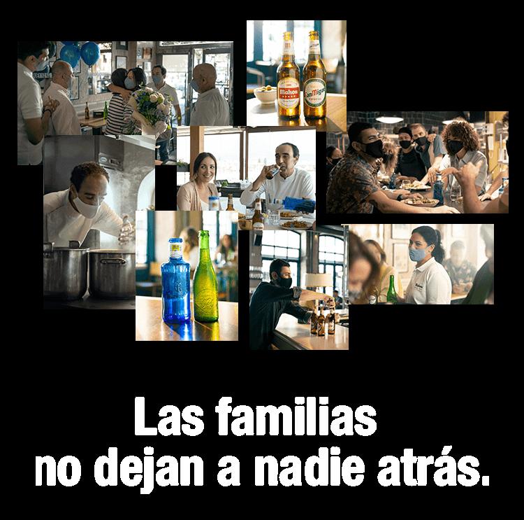 Las familias no dejan a nadie atrás.