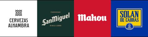 logos grupo mahou sanmiguel